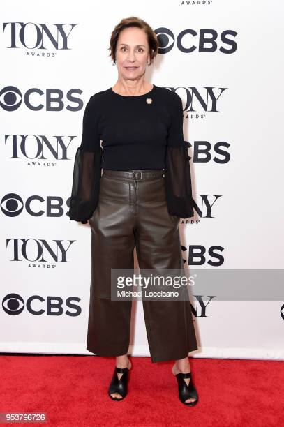 Laurie Metcalf attends the 2018 Tony Awards Meet The Nominees Press Junket on May 2 2018 in New York City