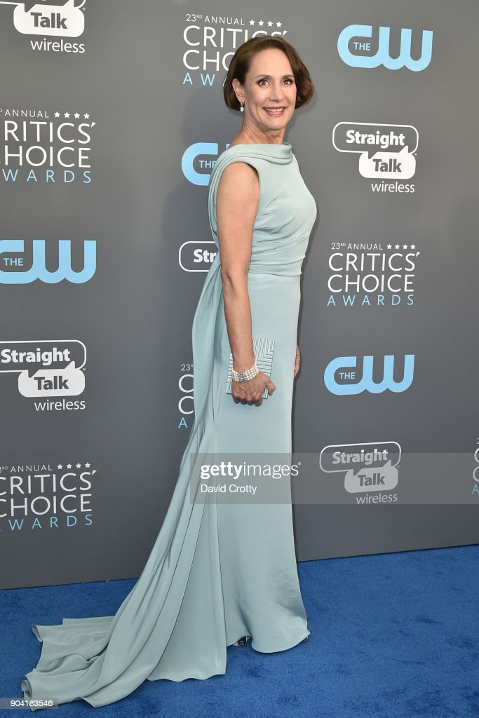 Laurie Metcalf attends The 23rd Annual Critics' Choice Awards - Arrivals at The Barker Hanger on January 11, 2018 in Santa Monica, California.
