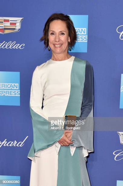 Laurie Metcalf attends the 29th Annual Palm Springs International Film Festival Awards Gala at Palm Springs Convention Center on January 2 2018 in...