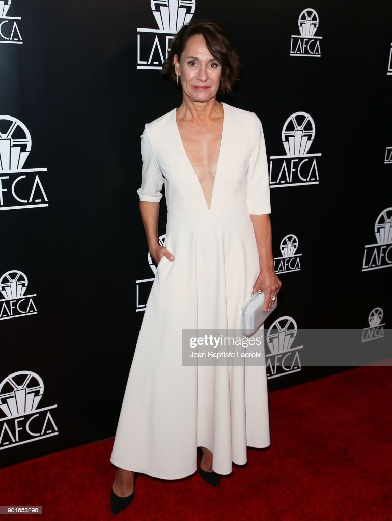 Laurie Metcalf attends the 43rd Annual Los Angeles Film Critics Association Awards on January 13, 2018 in Hollywood, California.