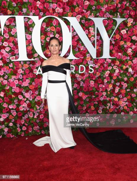 Laurie Metcalf attends the 72nd Annual Tony Awards at Radio City Music Hall on June 10 2018 in New York City