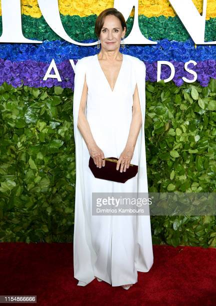 Laurie Metcalf attends the 73rd Annual Tony Awards at Radio City Music Hall on June 09 2019 in New York City
