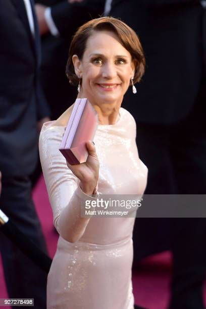 Laurie Metcalf attends the 90th Annual Academy Awards at Hollywood Highland Center on March 4 2018 in Hollywood California