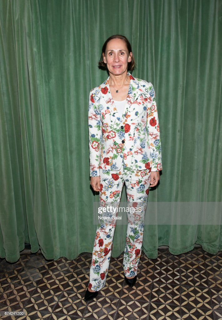 Laurie Metcalf attends the after party for Lucas Hnath's 'A Doll's House, Part 2' opening night starring Laurie Metcalf and Chris Cooper at Golden Theatre on April 27, 2017 in New York City.