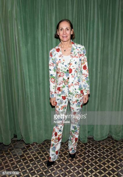 Laurie Metcalf attends the after party for Lucas Hnath's 'A Doll's House Part 2' opening night starring Laurie Metcalf and Chris Cooper at Golden...