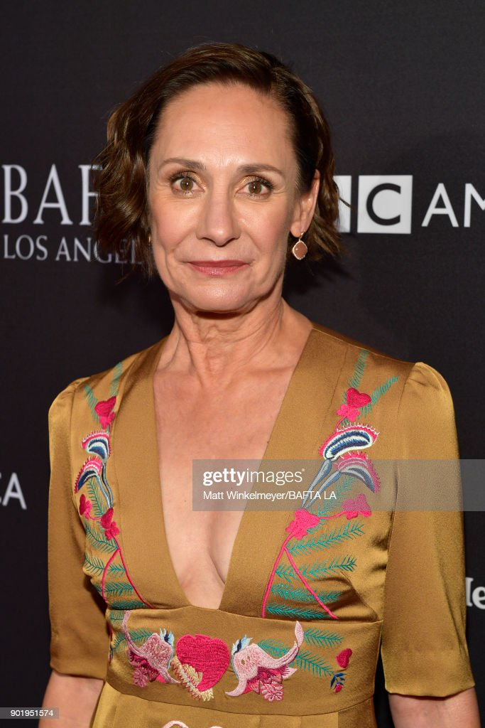 Laurie Metcalf attends The BAFTA Los Angeles Tea Party at Four Seasons Hotel Los Angeles at Beverly Hills on January 6, 2018 in Los Angeles, California.