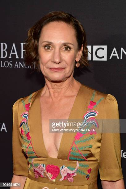Laurie Metcalf attends The BAFTA Los Angeles Tea Party at Four Seasons Hotel Los Angeles at Beverly Hills on January 6 2018 in Los Angeles California
