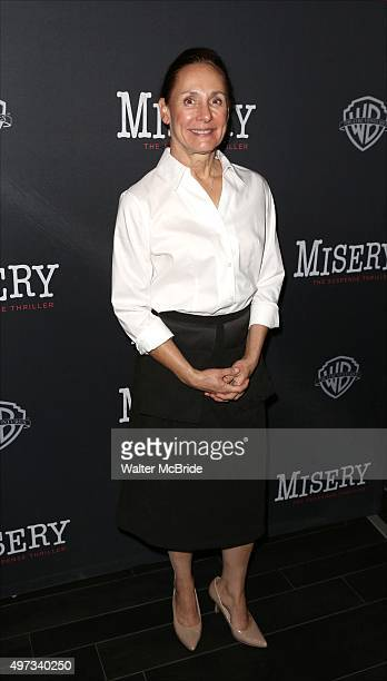 Laurie Metcalf attends the Broadway opening night performance after party for 'Misery' at TAO Downtown on November 15 2015 in New York City