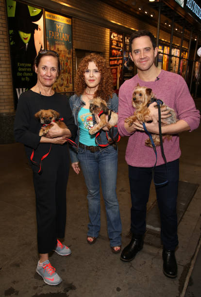 NY: Bernadette Peters Announces Broadway Barks 2020 With Laurie Metcalf And Santino Fontana