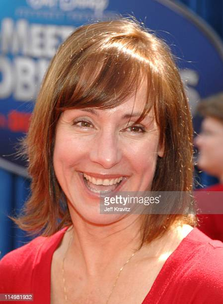 Laurie Metcalf during Meet The Robinsons Los Angeles Premiere Red Carpet at El Capitan Theatre in Hollywood California United States