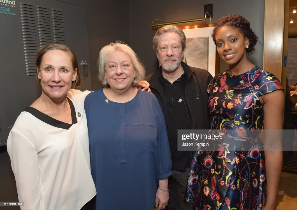 Laurie Metcalf, Jayne Houdyshell, Chris Cooper and Condola Rashad attend the 2017 Tony Awards Meet The Nominees Press Junket at the Sofitel New York on May 3, 2017 in New York City.