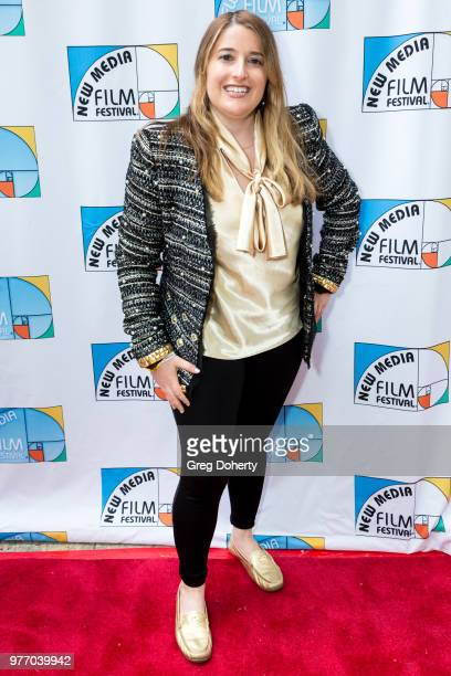 Laurie Moilov attends the 9th Annual New Media Film Festival at James Bridges Theater on June 16 2018 in Los Angeles California