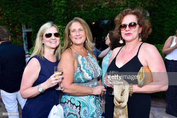 Laurie Schultz Janine Astorr and Karyn Mannix attend Maison Gerard Presents Marino di Teana A Lifetime of Passion and Expression at Michael Bruno and...