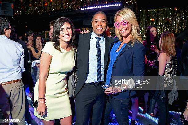 Laurie Segall Don Lemon and Brooke Baldwin attend the CNN The Seventies Launch Party at Marquee on June 9 2015 in New York City 25520_260JPG