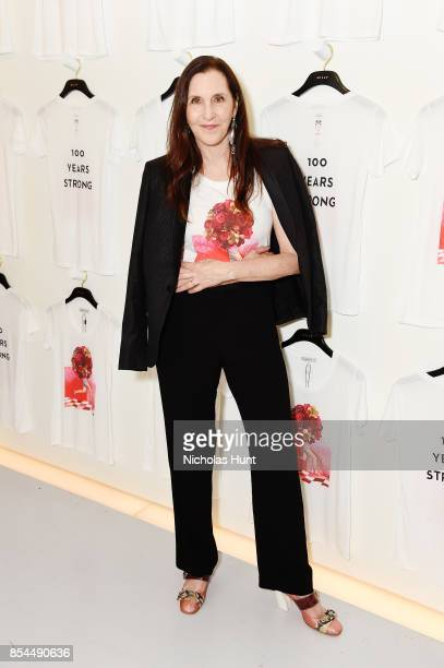 Laurie Simmons attends the MILLY x Laurie Simmons launch party to support Planned Parenthood at Milly Soho on September 26 2017 in New York City