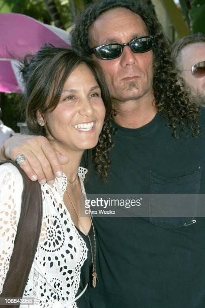 Laurie Stark and Richard Stark of Chrome Hearts during 'Confessions of a Pool Boy' at The Sunset Marquis and Villas Hosted by Agent Provocateur and...