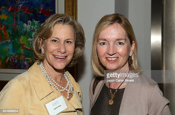 Laurie Tisch and Cathy Isaacson attend the Annual Luncheon for the New York Women's Foundation hosted by Jean Shafiroff at Le Cirque on September 8...