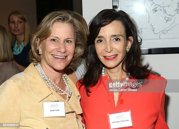 Laurie Tisch and Julie Fisher Cummings attend the Annual Luncheon for the New York Women's Foundation hosted by Jean Shafiroff at Le Cirque on...