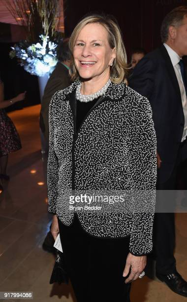 Laurie Tisch attends the Winter Gala at Lincoln Center at Alice Tully Hall on February 13 2018 in New York City