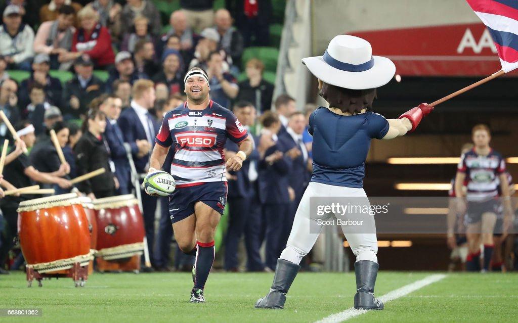 Super Rugby Rd 8 - Rebels v Brumbies : News Photo