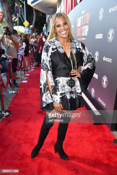 Laurieann Gibson attends the Los Angeles Premiere of Apple Music's CAN'T STOP WON'T STOP A BAD BOY STORY at The WGA Theater on June 21 2017 in...