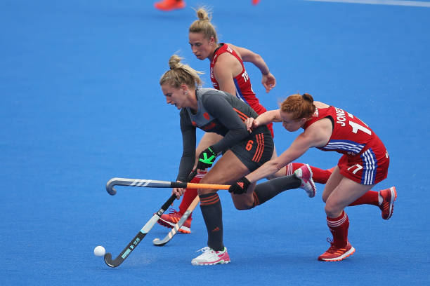 GBR: Great Britain v Netherlands - Women's FIH Field Hockey Pro League