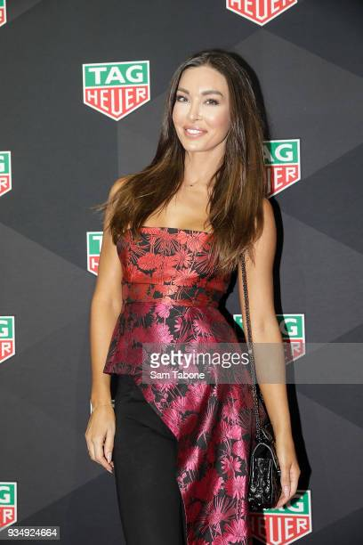 Laurina Fleure attends the TAG Heuer Grand Prix Party on March 20 2018 in Melbourne Australia