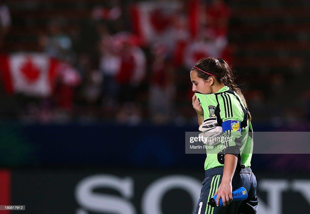 Argentina v Canada: Group C - FIFA U-20 Women's World Cup Japan 2012 : News Photo