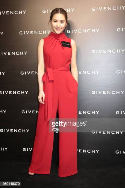 Laurinda Ho Chiulin daughter of Macau casino magnate Stanley Ho attends Givenchy's Popup store opening ceremony on June 21 2018 in Hong Kong Hong Kong