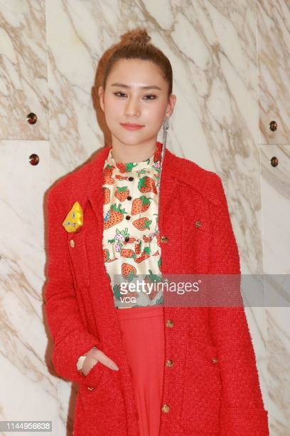 Laurinda Ho Chiulin daughter of SJM Holdings founder Stanley Ho attends a Gucci event on April 24 2019 in Hong Kong China