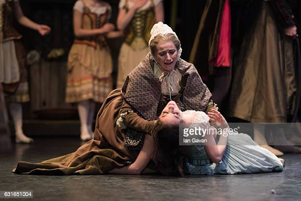 Laurretta Summerscales of the English National Ballet perfroms 'Giselle' on stage at the Coliseum on January 13 2017 in London England