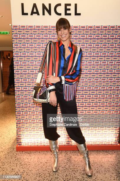 Laury Thilleman attends the Lancel Collection Presentation as part of the Paris Fashion Week Womenswear Fall/Winter 2019/2020 on February 27 2019 in...