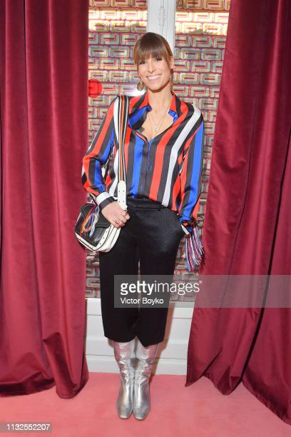 Laury Thilleman attends the Lancel presentation as part of the Paris Fashion Week Womenswear Fall/Winter 2019/2020 on February 27 2019 in Paris France