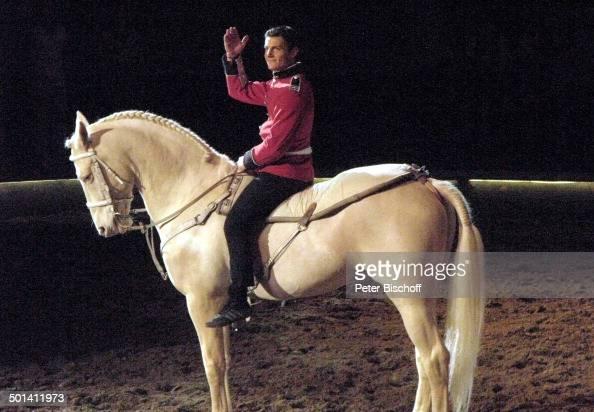 Laury Tisseur Auf Seinem Cremello Hengst Nach Pferde Nummer News Photo Getty Images