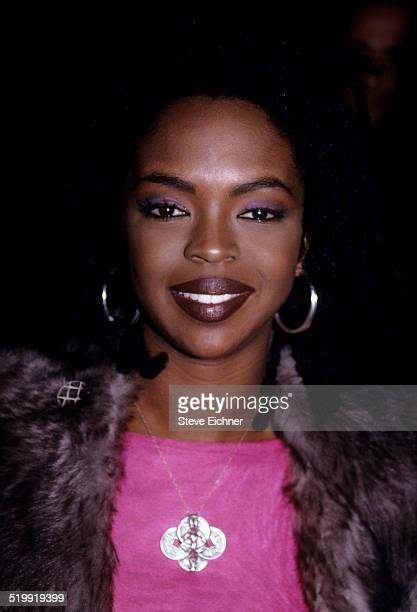 Lauryn Hill at Benefit for Refugee Project New York December 16 1998