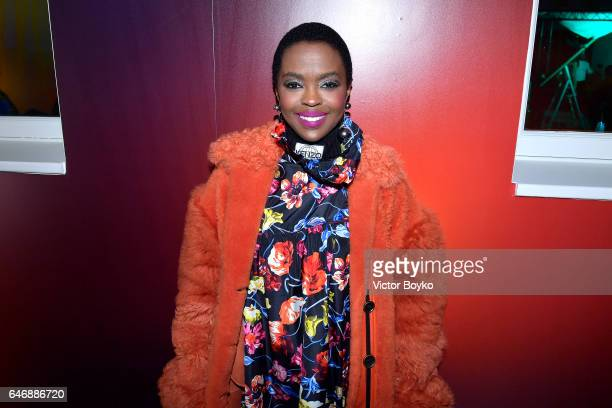 Lauryn Hill attends Kenzo La Collection Momento N°1 event at Kenzo Headquarters on March 1 2017 in Paris France