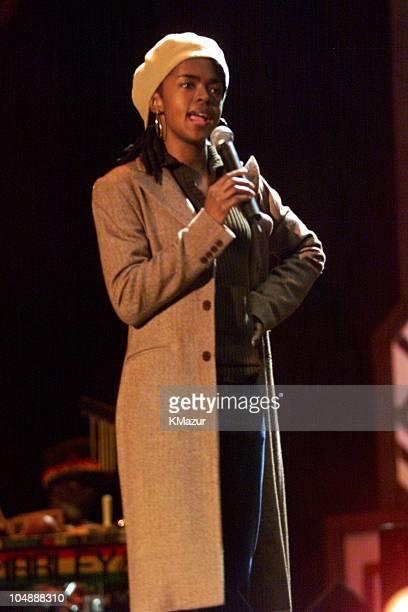 Lauryn Hill during One LoveThe Bob Marley Tribute in Oracabessa Beach Jamaica