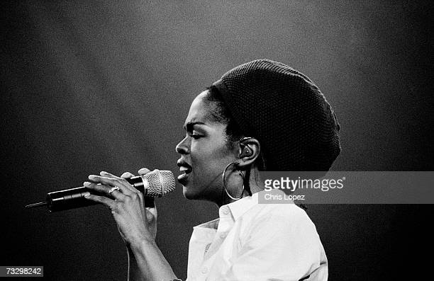Lauryn Hill performing at Brixton Academy London