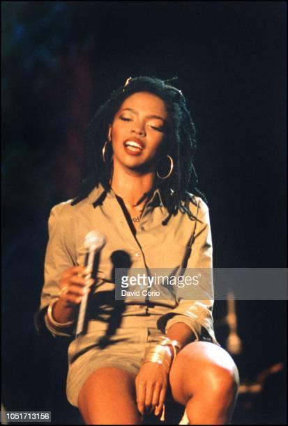 Lauryn Hill performing at One Love Bob Marley Festival, Oracabessa, Jamaica 4 December 1999.