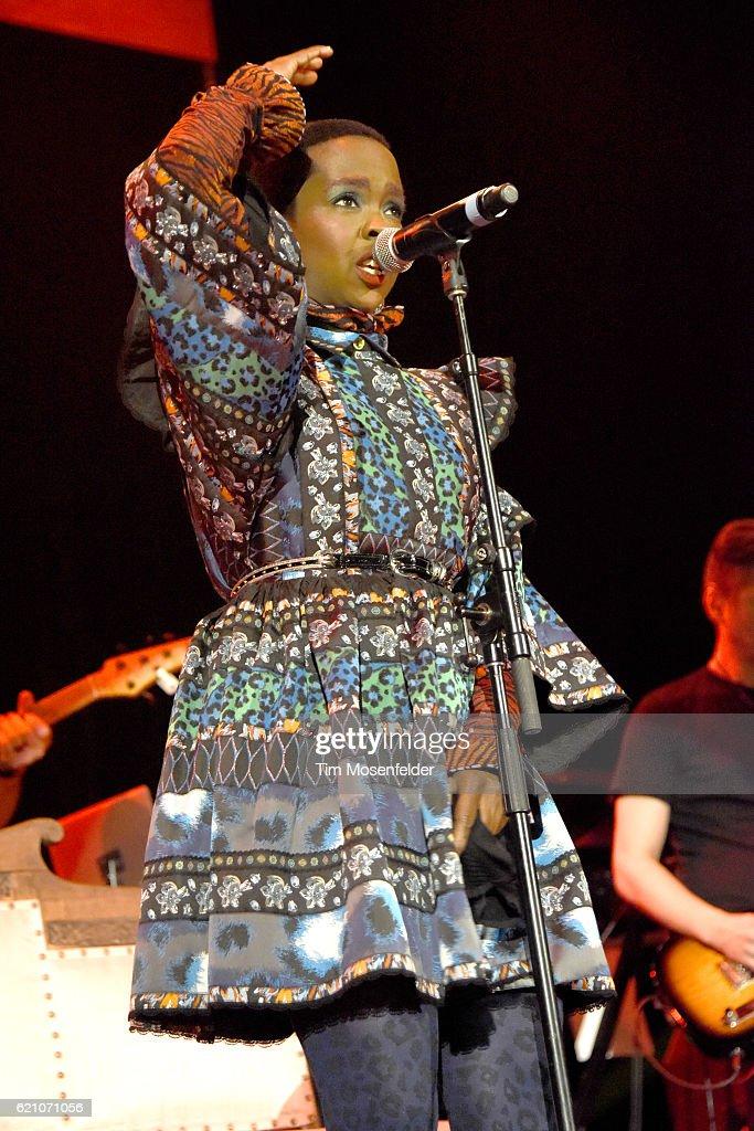 Lauryn Hill performs at Bill Graham Civic Auditorium on November 3, 2016 in San Francisco, California.