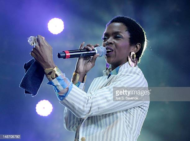Lauryn Hill performs at HOT 97's Summer Jam 2012at MetLife Stadium on June 3 2012 in East Rutherford New Jersey