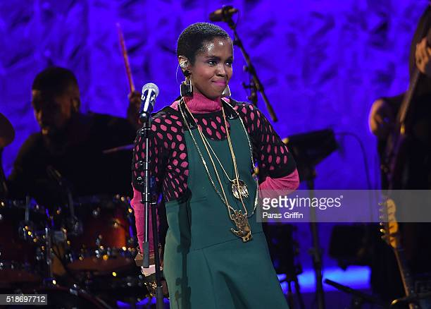 Lauryn Hill performs onstage at Black Girls Rock 2016 at New Jersey Performing Arts Center on April 1 2016 in Newark New Jersey