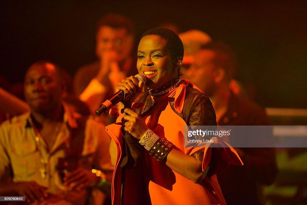 Lauryn Hill In Concert : Nachrichtenfoto
