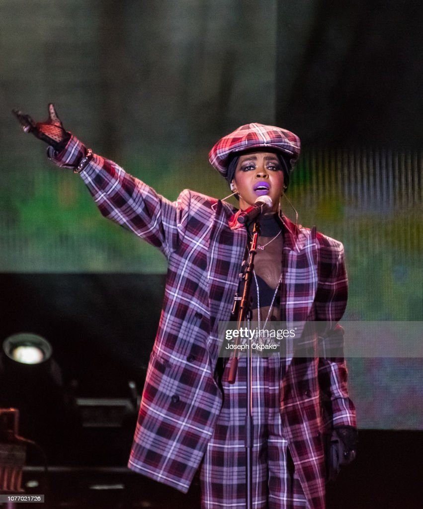 Ms. Lauryn Hill - The Miseducation of Lauryn Hill 20th Anniversary Tour At The O2 Arena : News Photo
