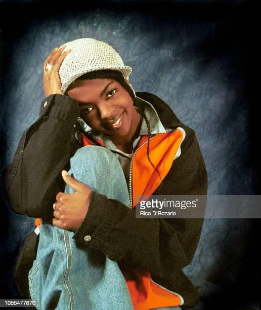 Lauryn Hill, studio portrait, Netherlands, 1999.
