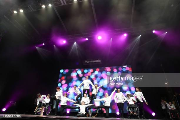 Lausanne 2020 Closing Ceremony presented a performance of local disable community to encourage equality and inclusion on the 13 day of Winter Youth...