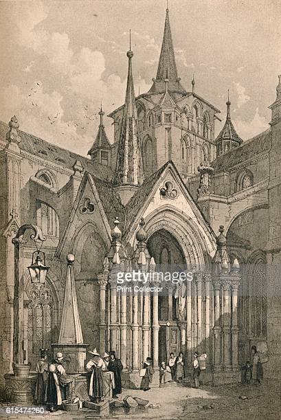Lausanne' c1830 ausanne is a city in the Frenchspeaking part of Switzerland From Sketches by Samuel Prout edited by Charles Holme [The Studio Ltd...