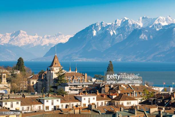 lausanne, switzerland - lausanne stock pictures, royalty-free photos & images