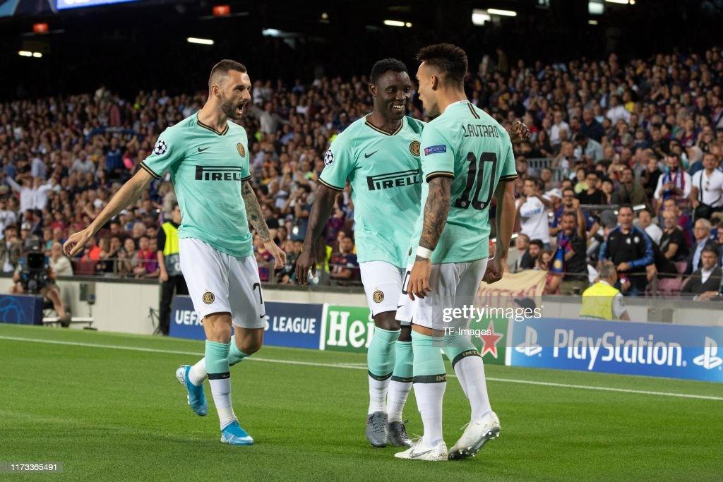 FC Barcelona v Inter Milan: Group F - UEFA Champions League : ニュース写真