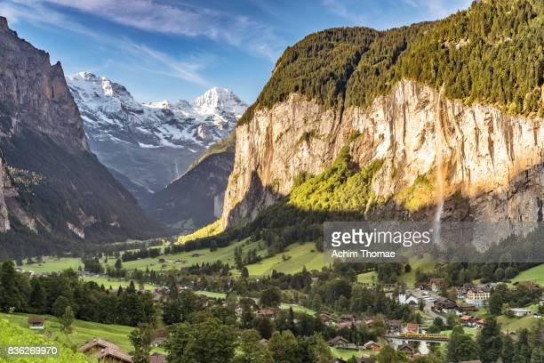 Lauterbrunnen Valley, Switzerland, Switzerland, Europe